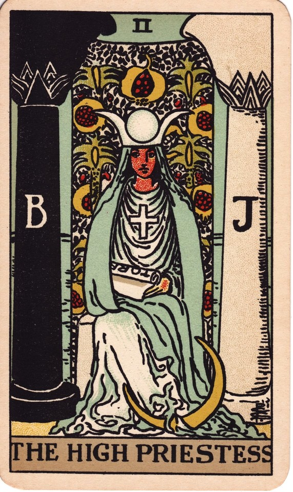 Tarot The High Priestess card meaning