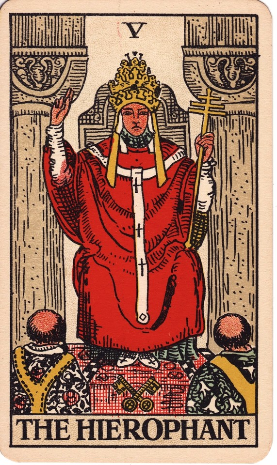 Tarot The Hierophant card meaning