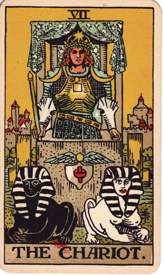Tarot The Chariot card meaning