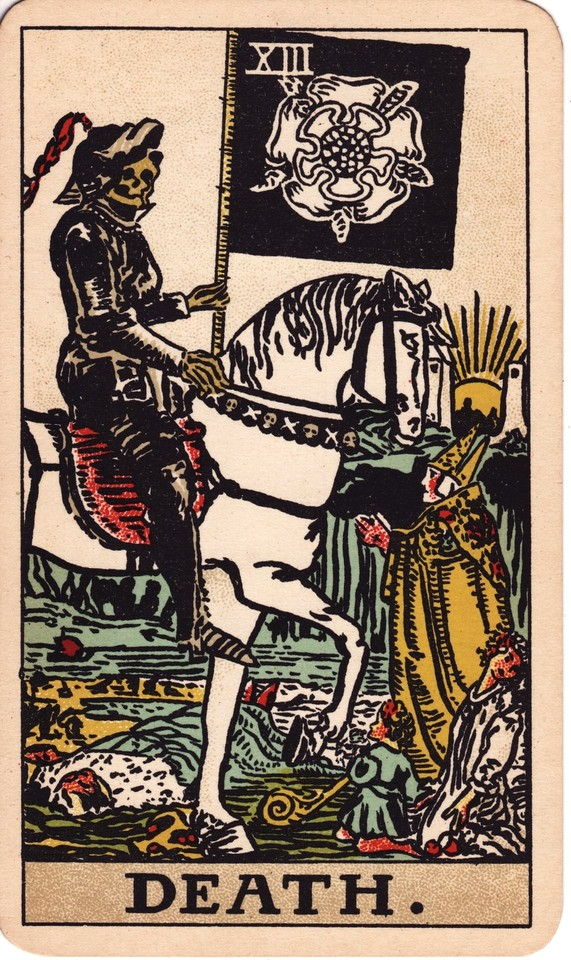 Tarot Death card meaning