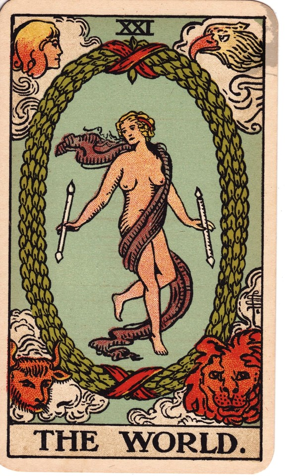 Tarot The World card meaning