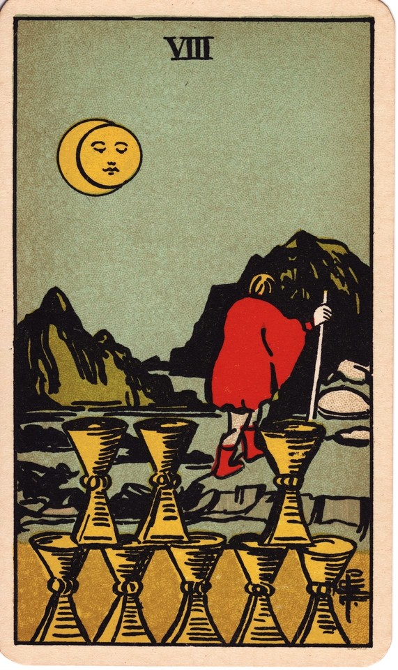 Tarot Eight of Cups card meaning