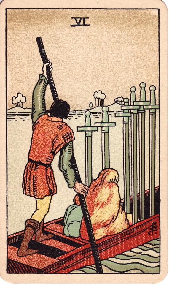 Tarot Six of Swords card meaning