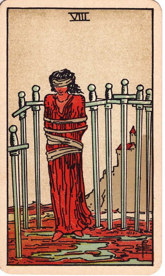 Tarot Eight of Swords card meaning