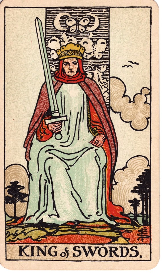 Tarot King of Swords card meaning