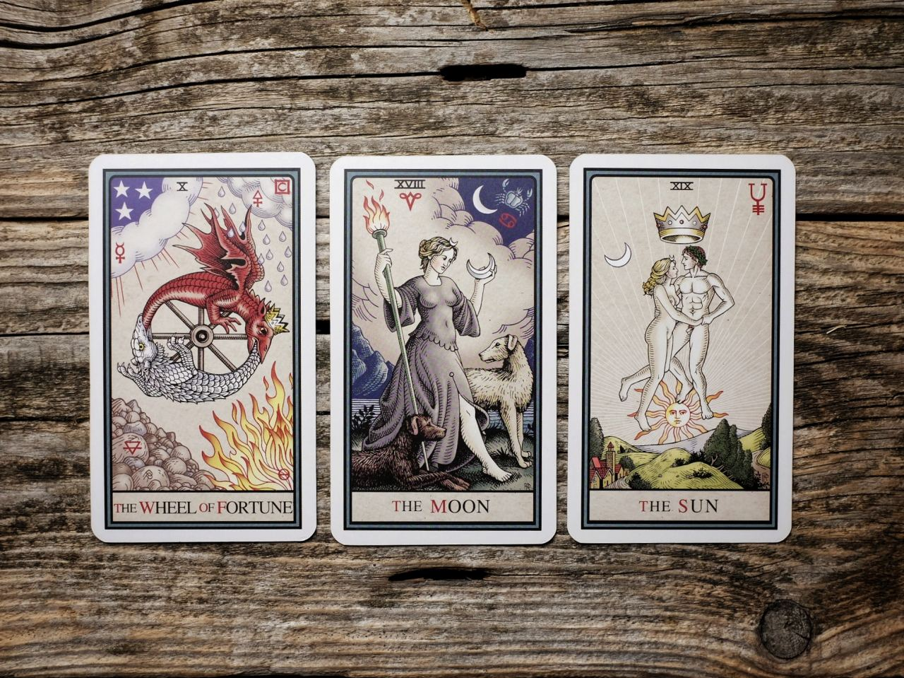 Alchemical Tarot by Robert M. Place
