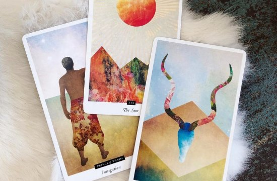 The Field Tarot deck