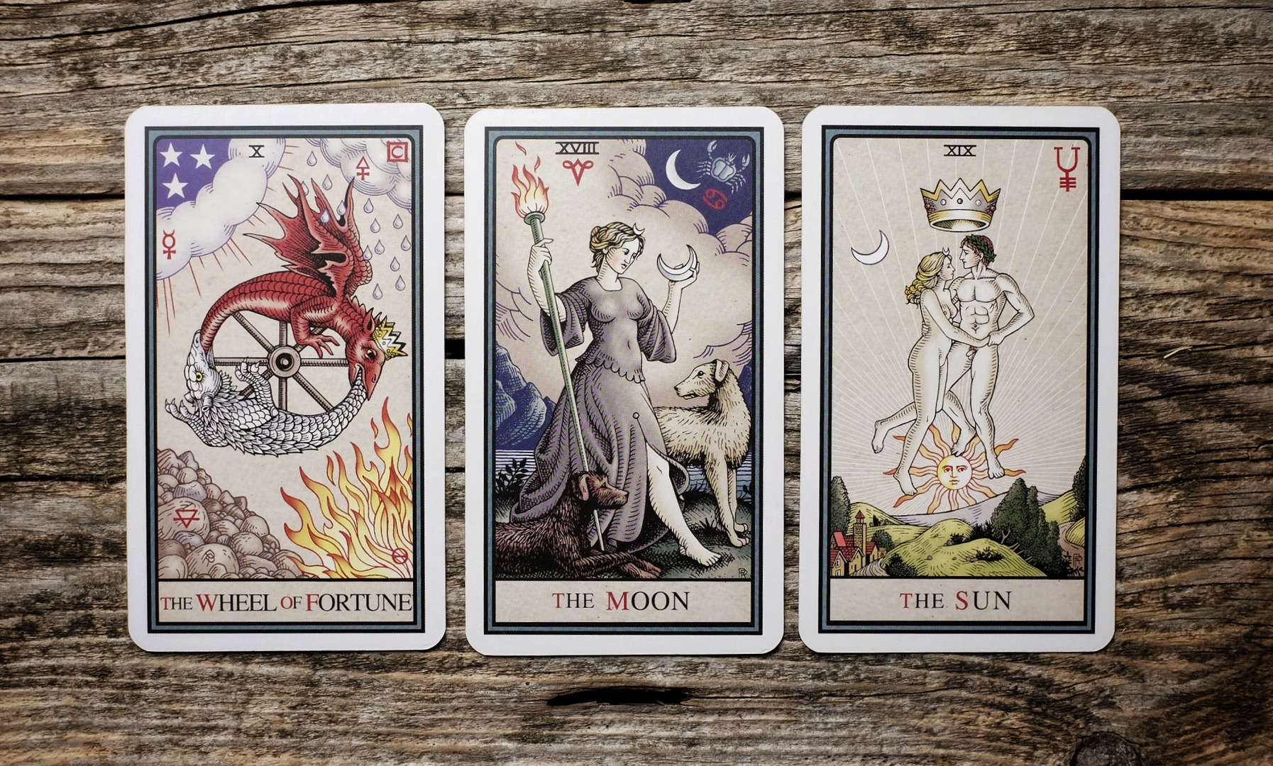 Alchemical Tarot by Robert Place